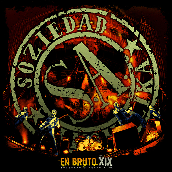 Nuevo CD+DVD en directo «En Bruto XIX»