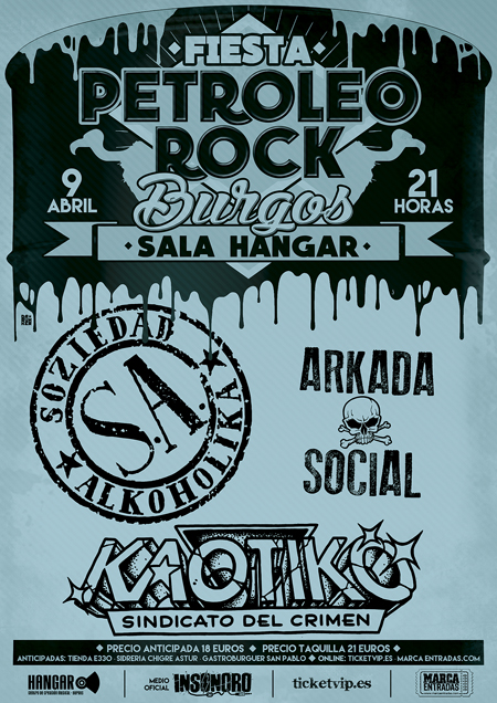 Cartel BURGOS Fiesta PETROLEO ROCK BURGOS WEB copia