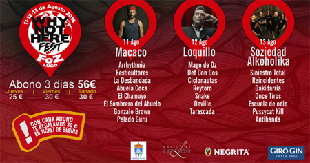Cartel Why Not Here Fest 2016 copia