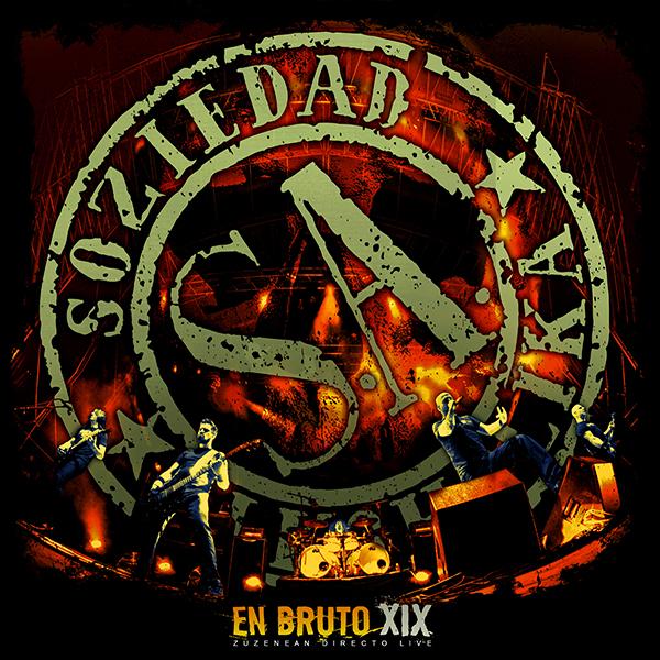"""CD+DVD en directo """"En Bruto XIX"""""""